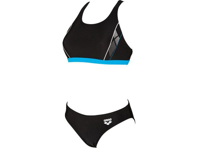 arena Skid Bikini Damer sort | swim_clothes